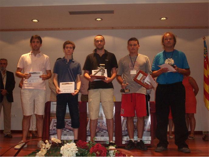 David Recuero, subcampeón de España de Ajedrez Rápido. Foto: FEDA.